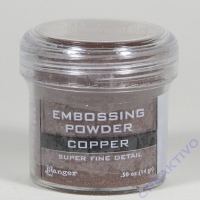 Ranger Embossing Puder copper - Super Fine Detail