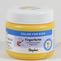 Fingerfarbe gelb