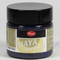 Viva Decor Maya Stardust - nachtblau