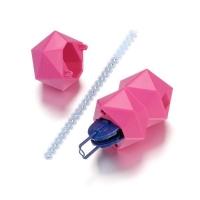 Crystal Pen Textil - Applikator für Textilien + Refill mit 42 Swarovski Steinen