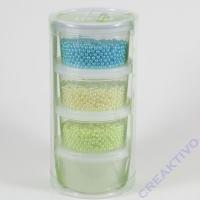 Pearl Clay®, 3x25 g, 38 g, türkis, creme, lindgrün