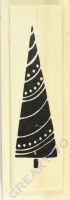 Stempel Christmas Tree Garland
