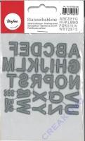 Rayher Stanzschablonen Classic Alphabet