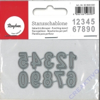 Rayher Stanzschablonen Classic Numbers