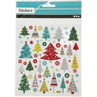 Sticker Weihnachtsbäume