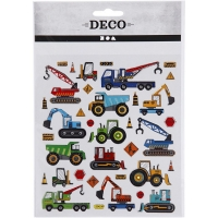 Sticker Baufahrzeuge