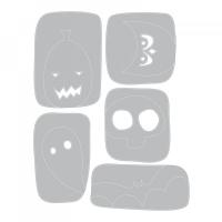 Sizzix Thinlits Die Set 5PK - Halloween Hangouts