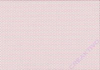 Sternchen-Fotokarton 300g/qm 49,5x68cm rot