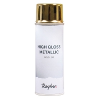 Rayher High Gloss Metallic Spray gold