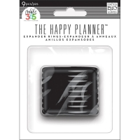 The Happy Planner - Expander Rings 9 pcs. black