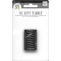The Happy Planner - Small Discs 9 pcs. black