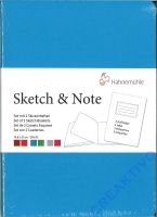 Hahnemühle Skizzenbuch Sketch & Note Blue Bundle Din A5