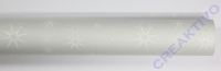 Transparentpapier White Line Sterne