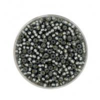Pracht Rocailles 2,6mm grau matt 17g