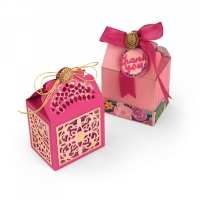Sizzix Thinlits Die Set 9PK - Box, Moroccan Lace