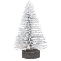 Deko-Tannenbaum beglimmert, 5cm,