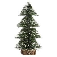 Deko-Tannenbaum beschneit, 20cm, grün