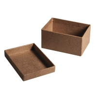 Pappmaché-Boxen-Set 7x5x3,5cm
