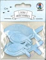 Deko-Accessoires Fische hellblau