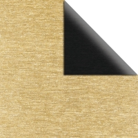 Scrap.-Papier Metalleffekt gebürstet gold/schwarz
