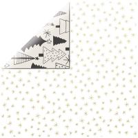 Scrapbooking Papier First Noel - Evergreen (Restbestand)