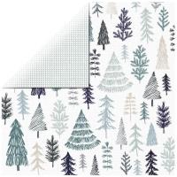 Scrapbooking Papier Wonderland - Winter (Restbestand)