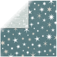 Scrapbooking Papier Wonderland - Stars (Restbestand)