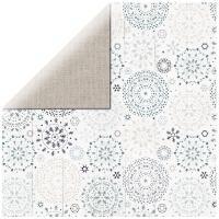 Scrapbooking Papier Wonderland - Snowfall (Restbestand)