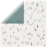 Scrapbooking Papier Wonderland - Snow scene (Restbestand)