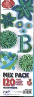 Quilling Mix Pack green (Restbestand)