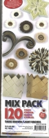 Quilling Mix Pack dark brown / light brown