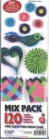 Quilling Mix Pack lime/azur/pink/aqua/lilac (Restbestand)