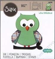 Sizzix Bigz Die Owl #5