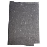 Japanseide Strohseide Bogen 50x70 cm dunkelgrau