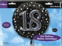 Folienballon 18 81cm