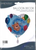 Folienballon Bär 6