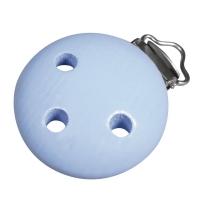 Holz-Clip 37mm babyblau