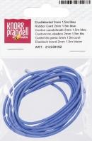 Elastikkordel 2mm blau