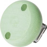 Holzclip pastellgrün 30mm