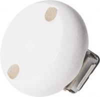 Holzclip weiß 30mm