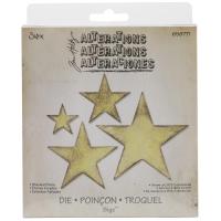 Sizzix Bigz Die By Tim Holtz 5.5X6 - Stacked Stars