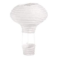 Papierlampion Heißluftballon, 15cm 2 Stück