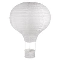 Papierlampion Heißluftballon, 30cm
