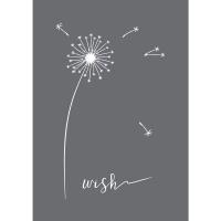 Schablone Wish A5