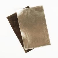Metallic Kunstleder kaschmir gold