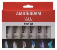 Amsterdam Acrylics - 6 x 20ml Pearl Set