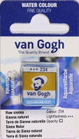 Van Gogh Aquarell Näpfchen siena natur