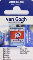 Van Gogh Aquarell Näpfchen zinnober
