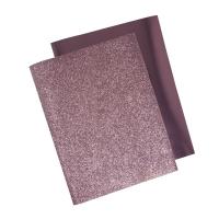 Metallic Bügel-Transferfolie rosé