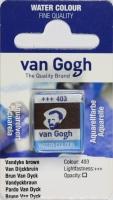 Van Gogh Aquarell Näpfchen vandyckbraun